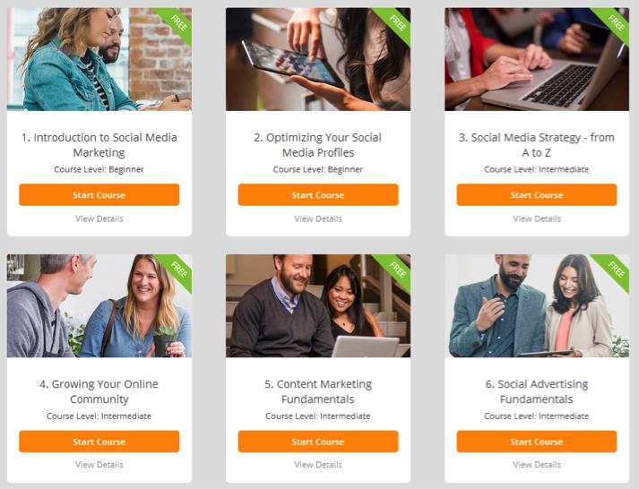 Hootsuite Social Media Marketing Courses